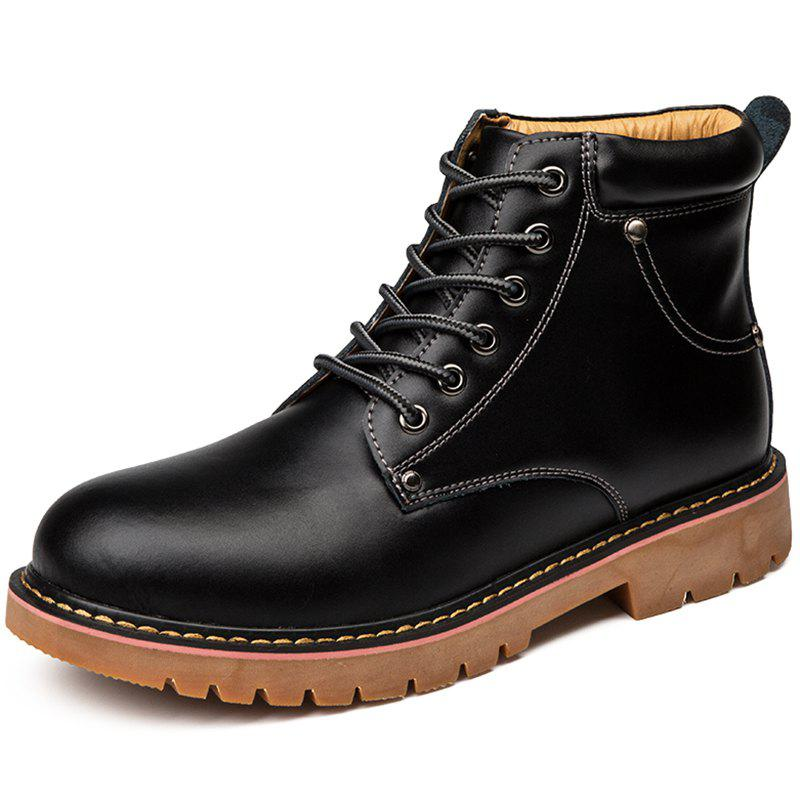 Chic Warm Cold-proof Trend British Men's Boots