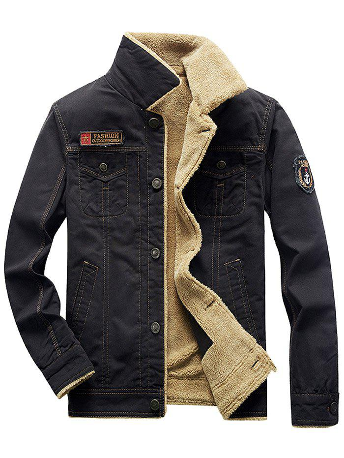 Online BC9798 - A570 Slim Thickened Mid-length Jacket