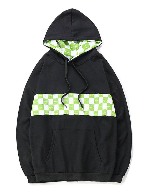 Chic Multicolor Racing Printing Hooded Hoddy
