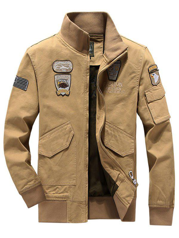 Outfits Air Force No. 1 Military Uniform Collar Jacket