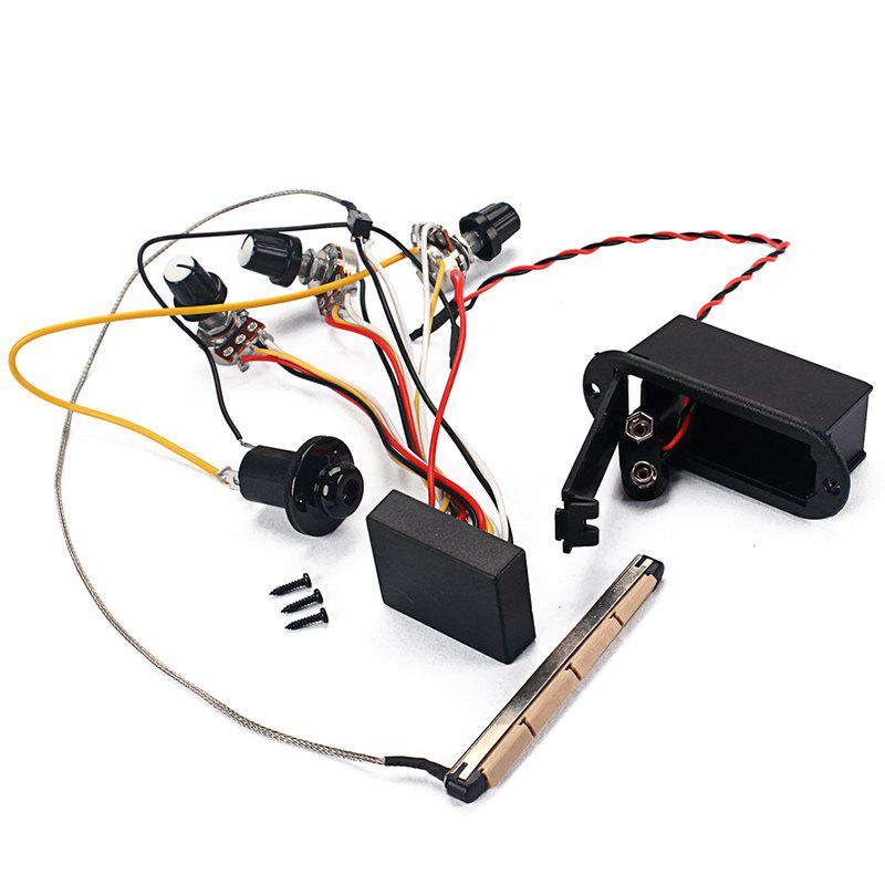 Fashion Excellent Bass Amplifying Circuit