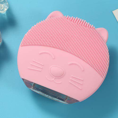 Fashion Cartoon Cleansing Instrument Rechargeable Pore Face Washer