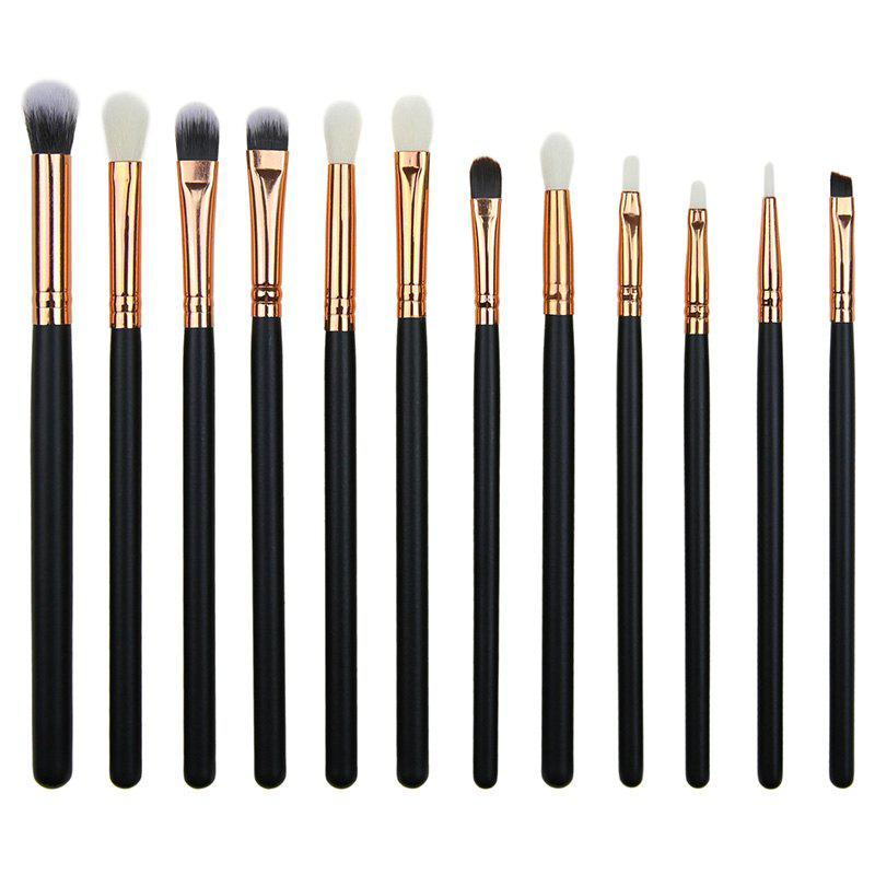 Outfit Personality Eye Makeup Brush  12pcs