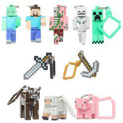 Game Doll Keychain 10pcs -