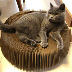 Funny Multifunctional Corrugated Paper Cat Toy -