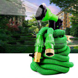 15m Garden Telescopic Pipe Watering Forest High Pressure Rubber Hose -