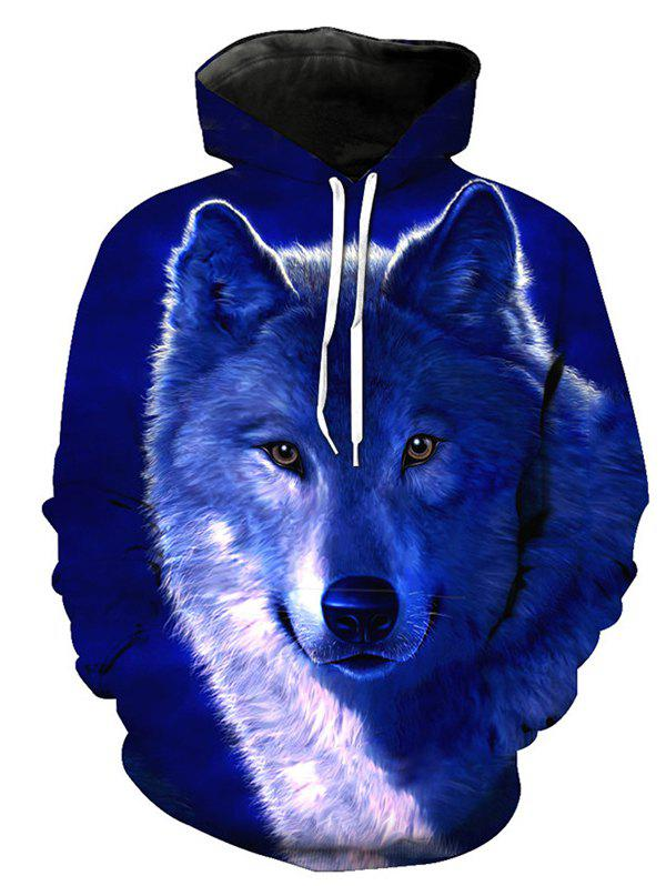 Buy Autumn Winter 3D Little Wolf Hoodies