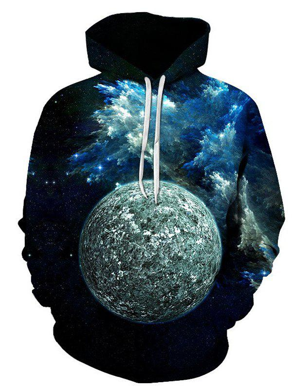 Buy Autumn And Winter 3D Lunar Hooded Sweater
