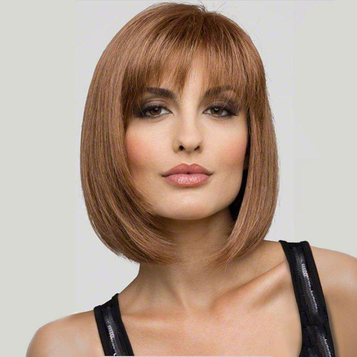 37 Off 2019 Fashion Short Hair Girls Slanting Bangs Bobo Wig