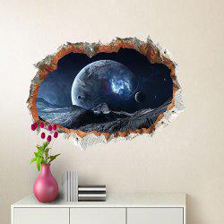 Planetary Wall Breaking Sticker -