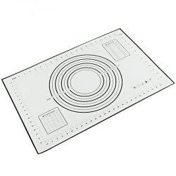 Silicone Pad with Scale Heat-resistant Anti-stick Non-slip Baking Tool -