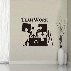 YY004 Inspirational English Team Personality Creative Wall Stickers -