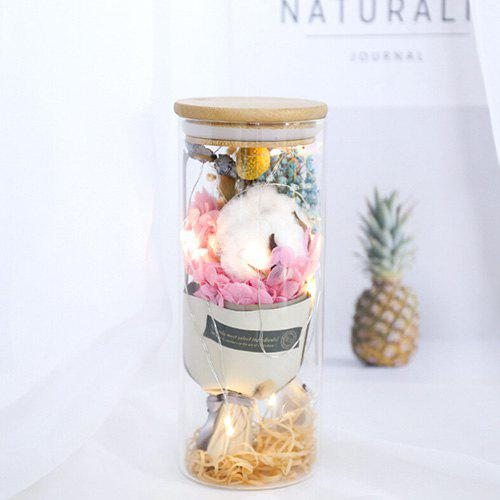 Outfit Flower Bouquet Glass Lamp Gift Valentine's Day Birthday Star Rose Home Decoration