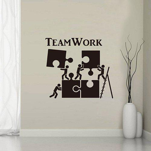 Chic YY004 Inspirational English Team Personality Creative Wall Stickers