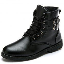 Men Stylish Leisure High-top Boots -