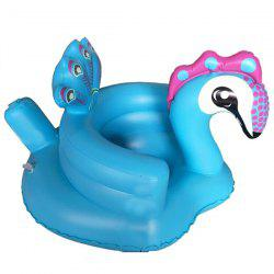 Music Peacock Inflatable Sofa Learning Seat Chair Dining Chair Baby Bath Stool Toys -