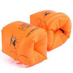Adult Children's Arm Double Balloon Sleeves Inflatable Float Swimming Ring 2pcs -