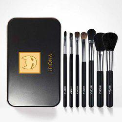 Full Loose Powder Eye Shadow Makeup Brush 7PCS -