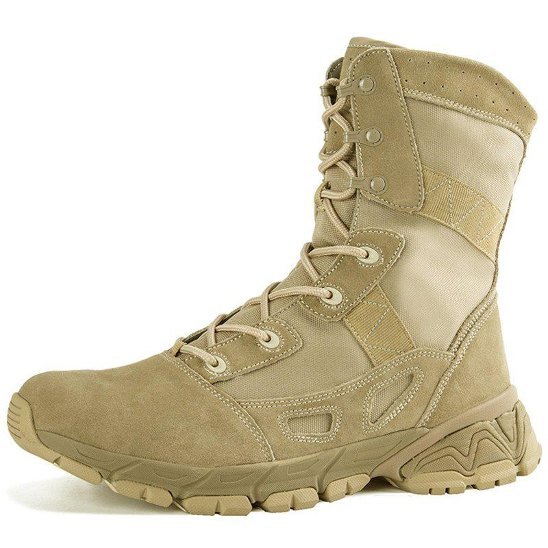 New Men Stylish High-top Outdoor Boots