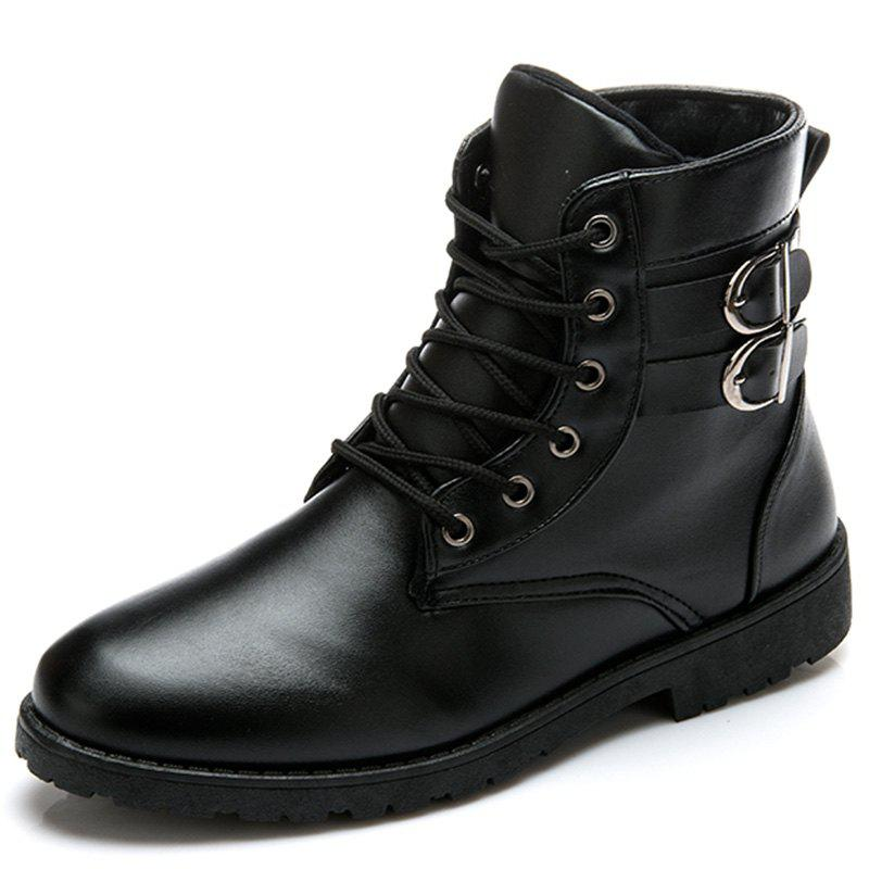 Hot Men Stylish Leisure High-top Boots