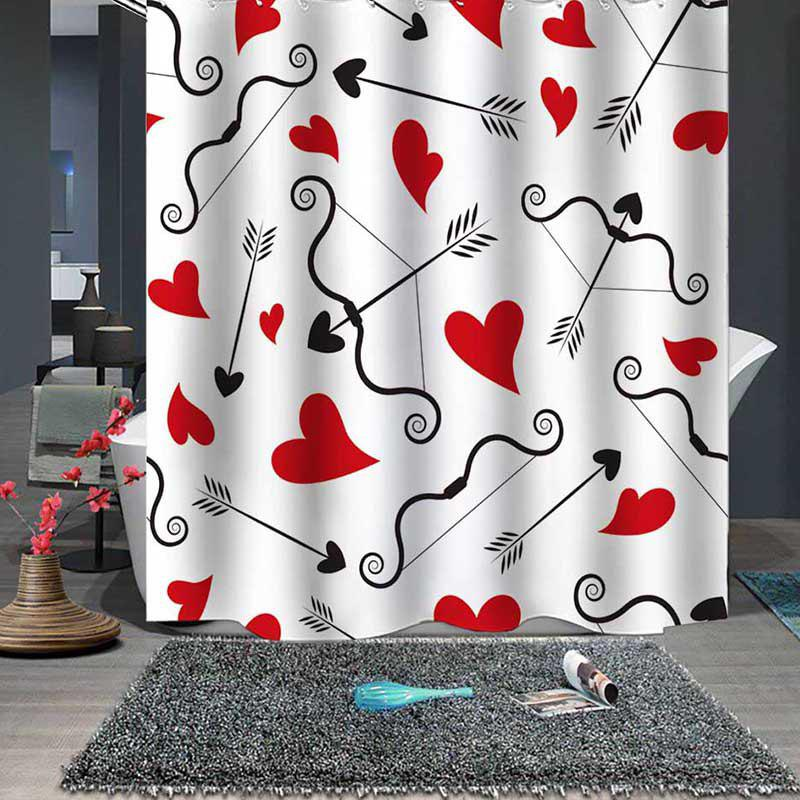 Discount Fine Polyester Waterproof Shower Curtain