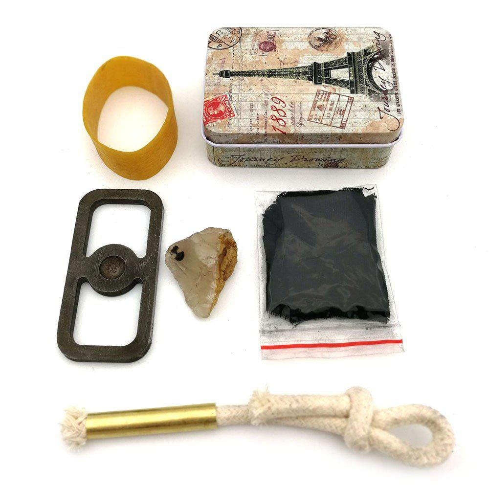 Buy Wild Original Survival Ignition Kit Old-fashioned Fire Meteorite Carbon Cloth