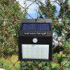 HB - 2A20 Solar Small Triangle LED Garden Courtyard Waterproof Wall Lamp -
