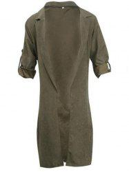 BA0280 Fashion Thin Long Sleeve Women's Trench -