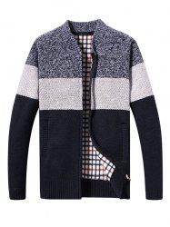KS200 Men's Contrast Color Sweater -
