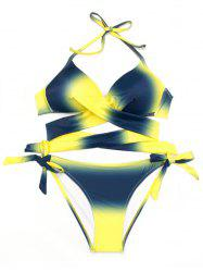 Strap Sexy Two-Piece Swimsuit Set -