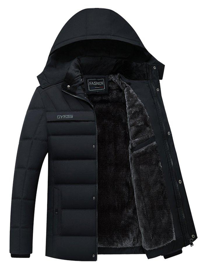 Outfits Fashion Men's Thick Parka