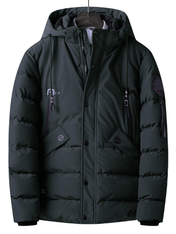 Outfit 1810 - B511 Men's Short Trend Hooded Parka