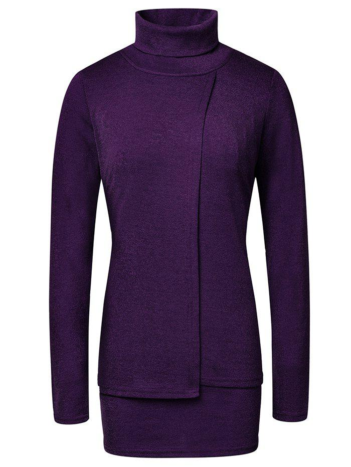 Sale Fashion High Neck Pullover Women's Sweater