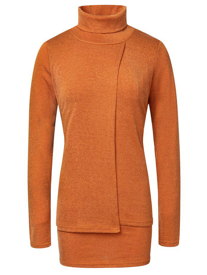 Online Fashion High Neck Pullover Women's Sweater