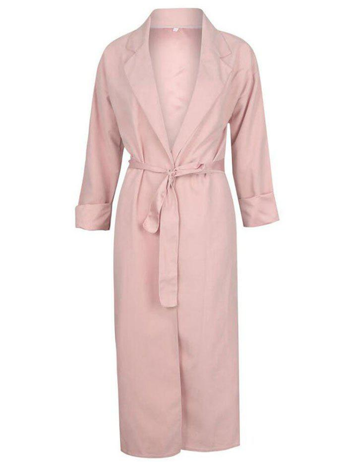 Shops Fashion Thin Long-sleeved Trench Coat
