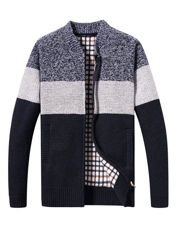 Shop KS200 Men's Contrast Color Sweater