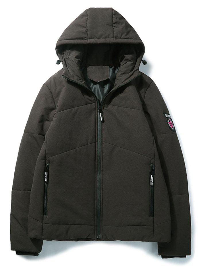 Outfits Fashion Men's Windproof Parka
