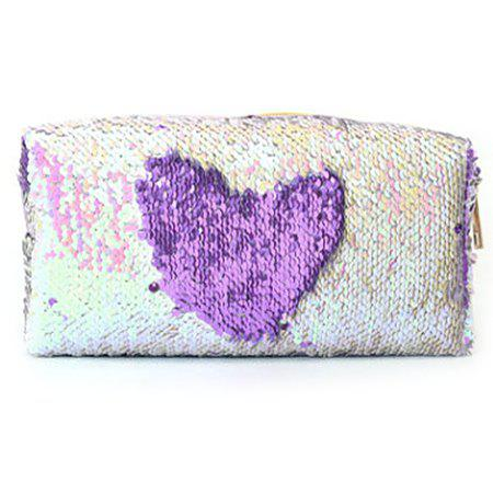 Hot Mermaid Sequin Cosmetic Bag