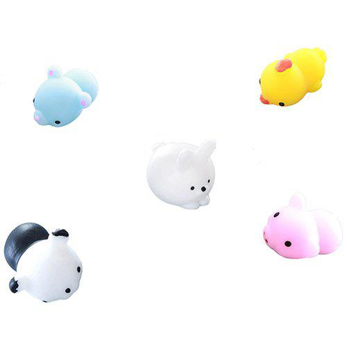 Fashion Cute Animal Squishy Toy 5pcs