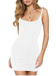 FC431 Women's Solid Color Halter Bottoming Sexy Dress -