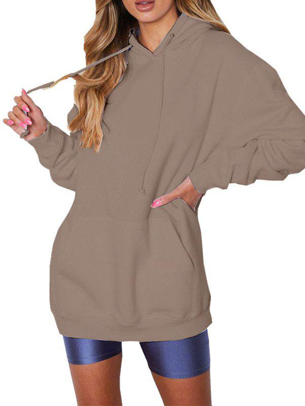 New FC430 Women's Solid Color Casual Hoodie