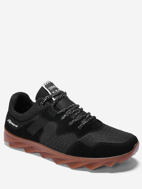 Discount Suede Trim Breathable Athletic Sneakers