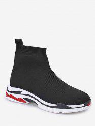 Knitted Sock Sneaker Boots -