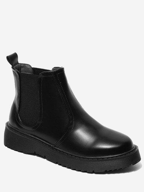 Shop PU Leather Chelsea Boots