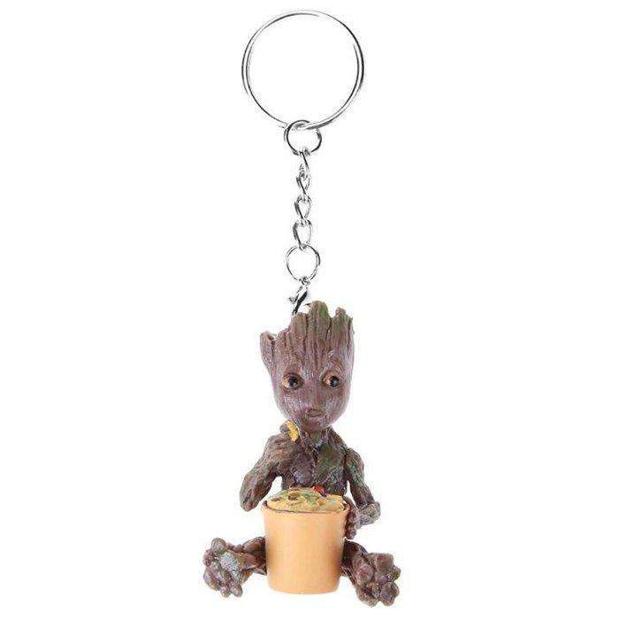 Affordable Film Television Model Doll PVC Hand-made Ornaments Keychain