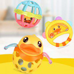 B.DUCK WL - BD097 Baby Puzzle Rattle Hand Ball Set -