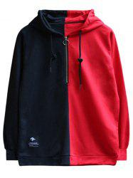 Chaolongjushang GH - 8822 Men Spring Color Matching Hooded Hoodie -