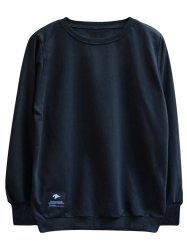 chaolongjushang GH - 8819 Spring Round Neck Solid Color Sweatshirts -