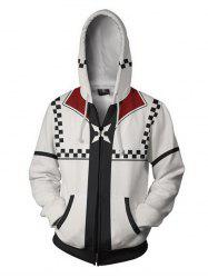 Men's Hoodie Casual Hooded Digital Print -