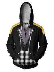 Men's Hoodie Printed Hooded Casual Personality -